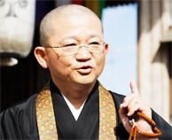 写真:祖父江善光寺東海別院・林和伸副住職
